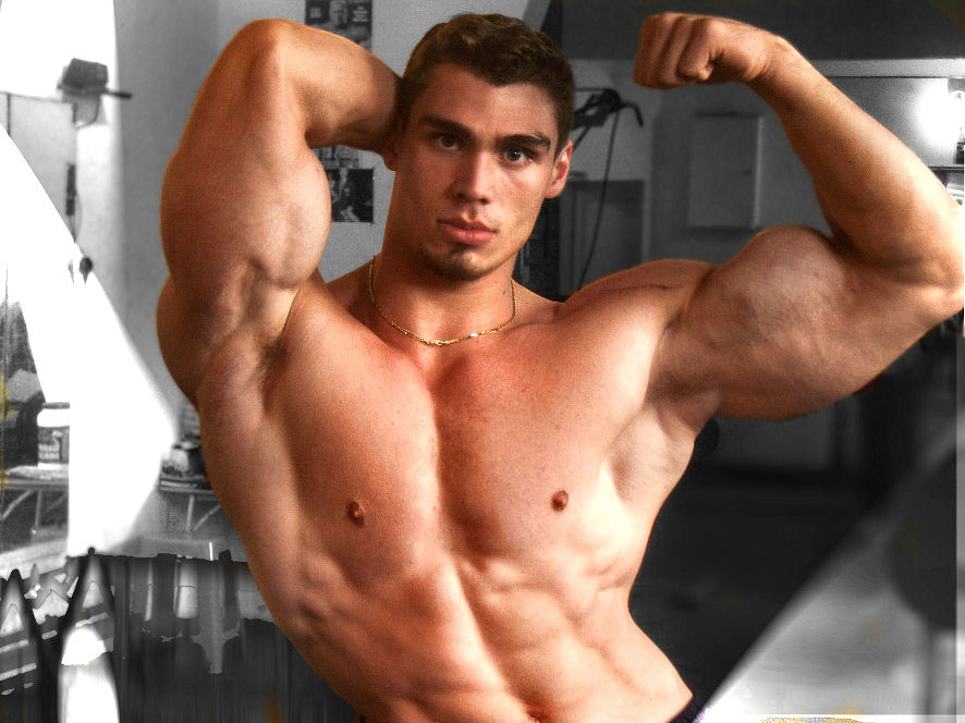 Gay Muscle Worship - Live Naked Bodybuilders - Gay
