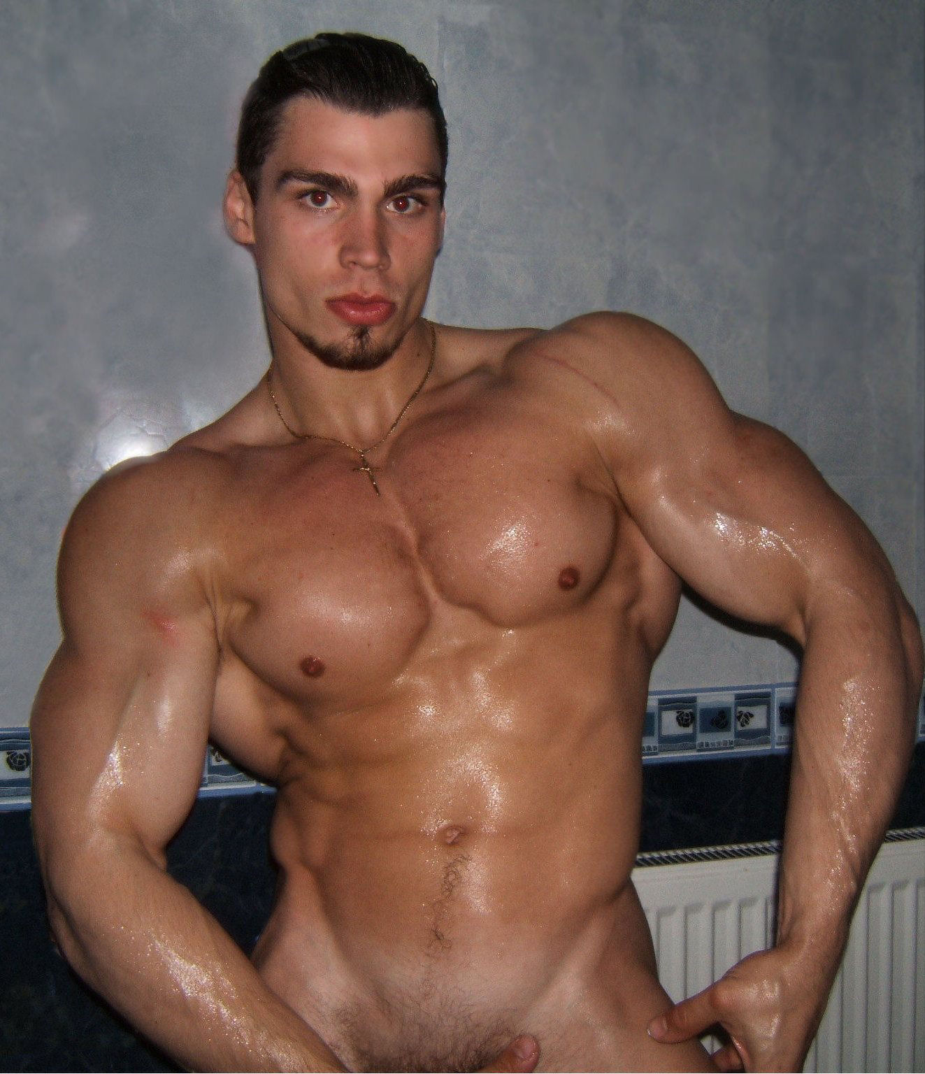 Gay latino muscle
