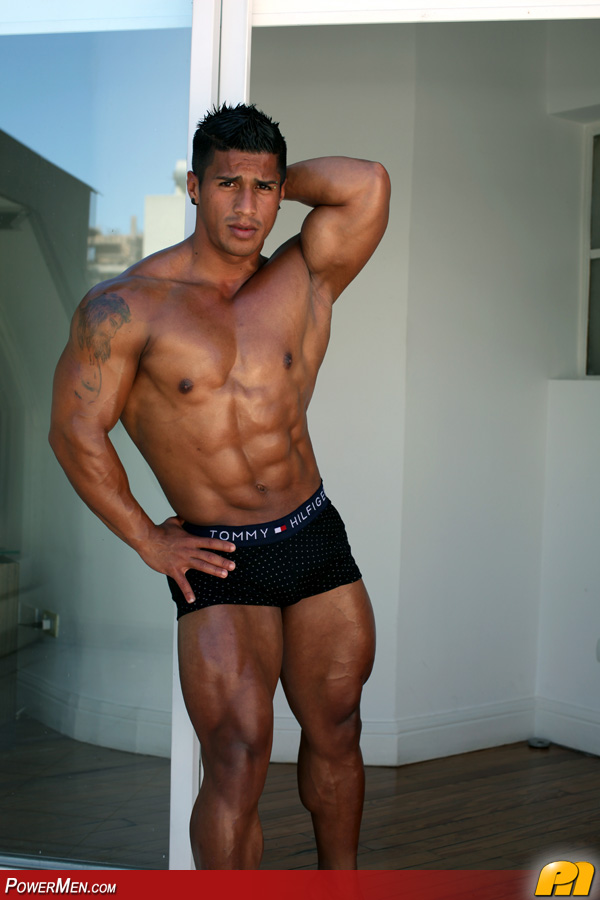 from Quentin gay latin hunk