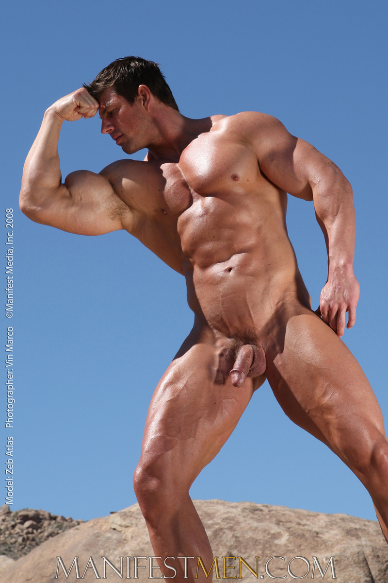 Nude Bodybuilder Male 26
