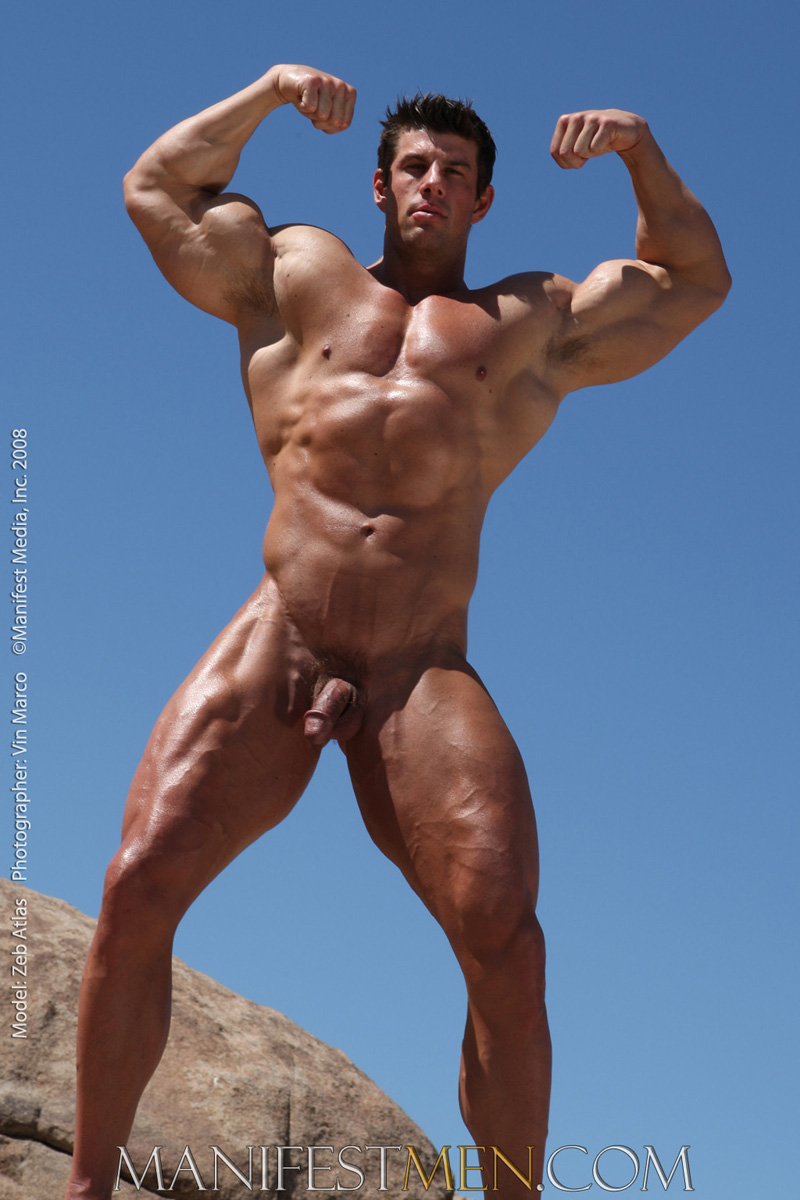 Are Nude male bodybuilding poses
